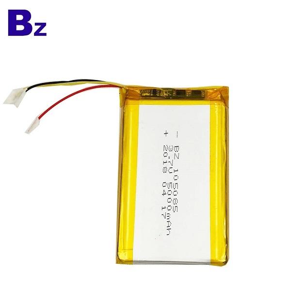 符合IEC 62133的105085 5000mAh鋰電池