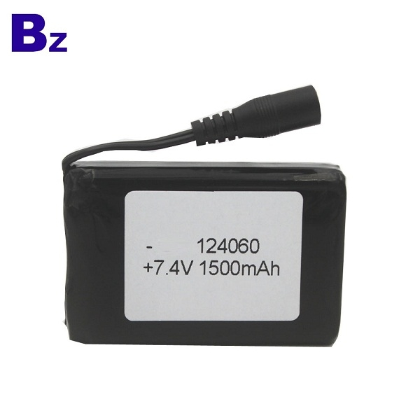 BZ 124060 2S 7.4V 1500mAh 聚合物鋰離子電池