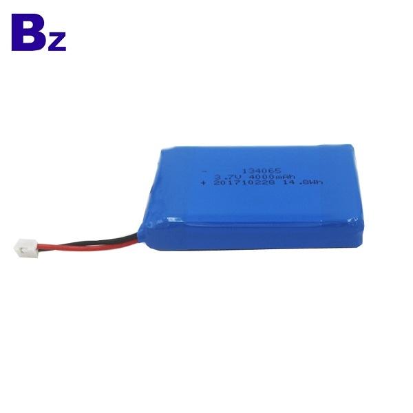 134062 4000mah 3.7V 鋰聚合物電池
