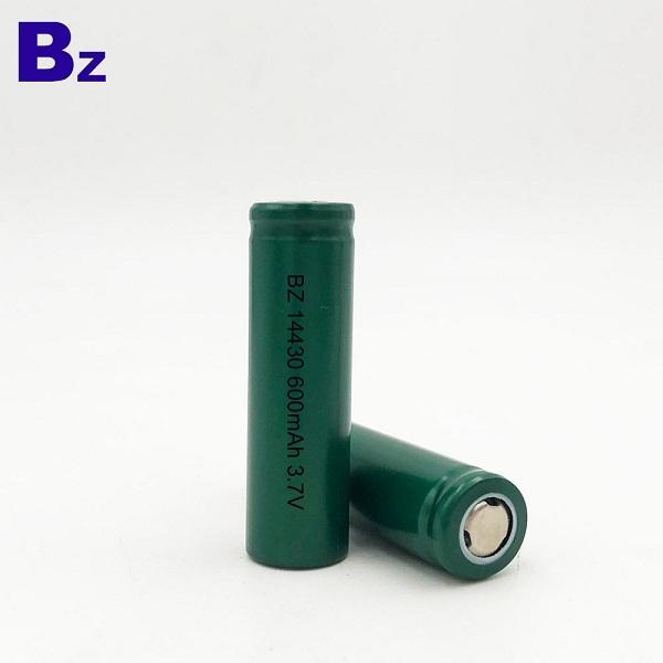 BZ 14430 600mAh 3.7V 鋰離子電池