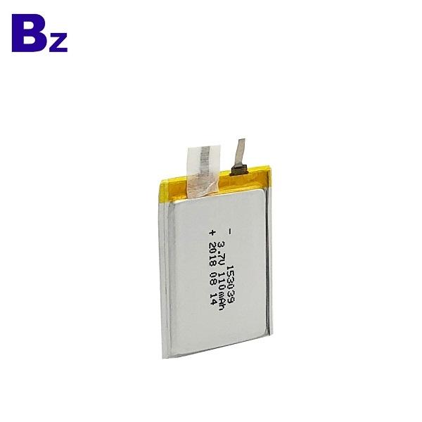 110mAh 3.7V超薄電池