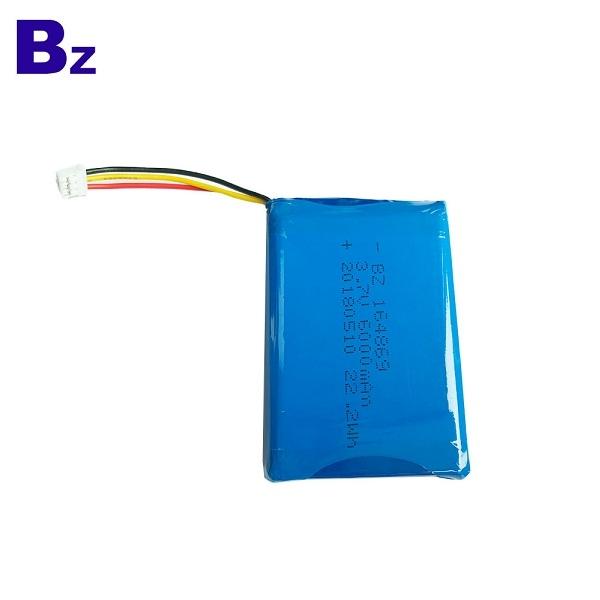 批發移動電源聚合物鋰離子電池 BZ 164869 3.7V 6000mAh 鋰電池組