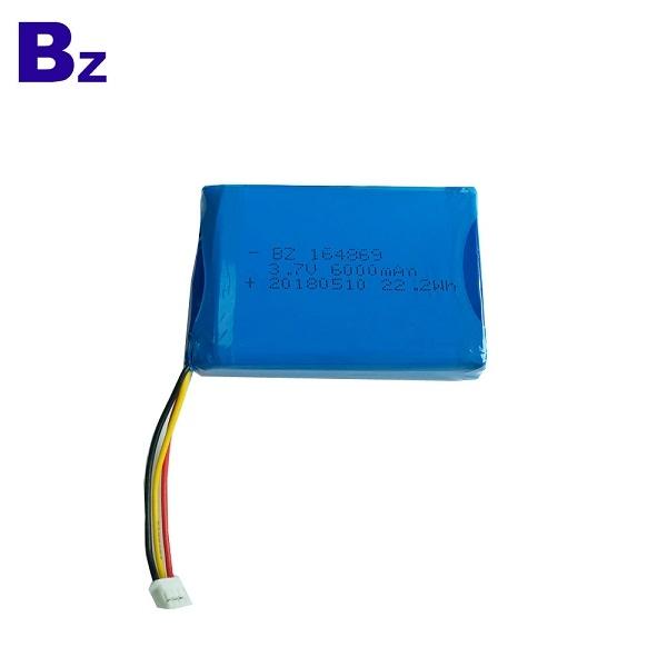 BZ 164869 3.7V 6000mAh 鋰電池組