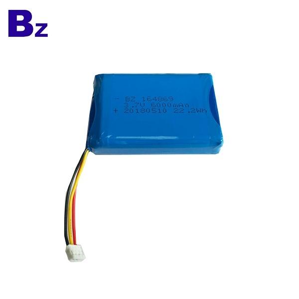 3.7V 6000mAh 鋰電池組