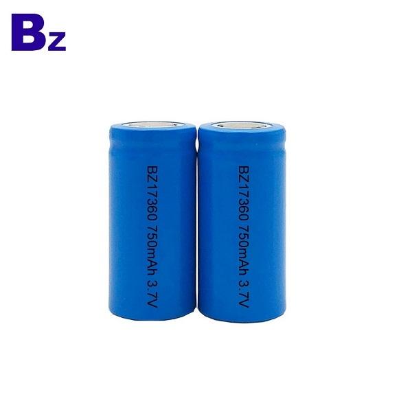 BZ 17360 750mAh 3.7V 可充電鋰離子電池