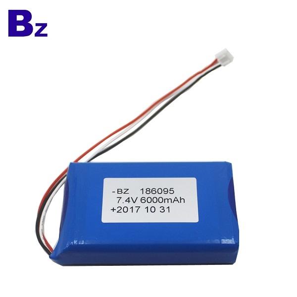 186095-2S 6000mah 7.4V 聚合物鋰離子電池