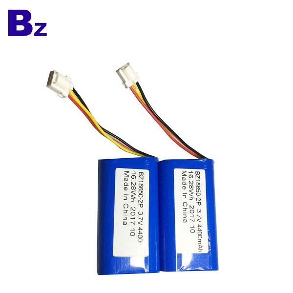 18650-2P電池4400mah 3.7V圓柱形鋰離子電池