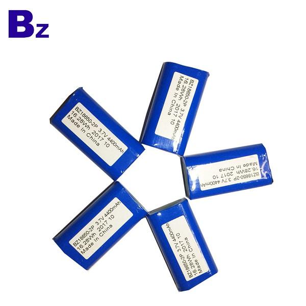 4400mah 3.7V圓柱形鋰離子電池