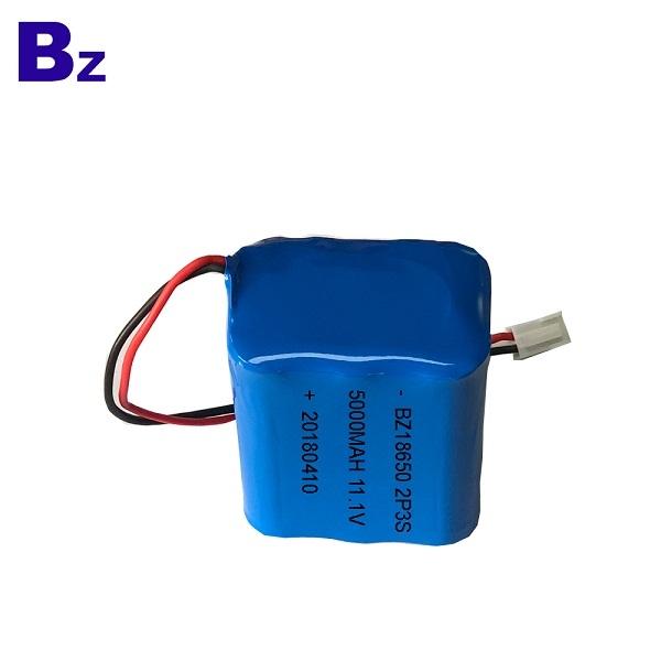 18650 5000mAh 11.1V 鋰離子電池