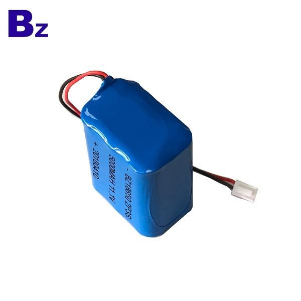 5000mAh 11.1V 鋰離子電池
