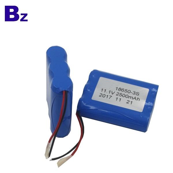 圓柱電池 BZ 18650 3S 2500mAh 11.1V 鋰離子充電電池