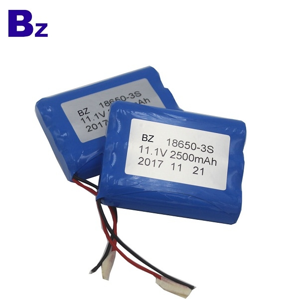 BZ 18650 3S 2500mAh 11.1V 鋰離子充電電池