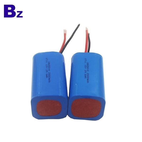 OEM 圓柱形電池 BZ 18650 4S 2000mAh 14.8V 可充電鋰離子電池