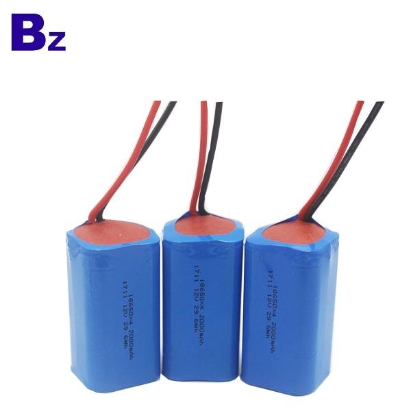 BZ 18650 4S 2000mAh 14.8V 可充電鋰離子電池