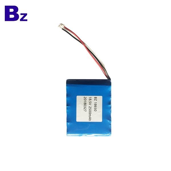 18650 2500mAh 18.5V 5C 鋰離子電池