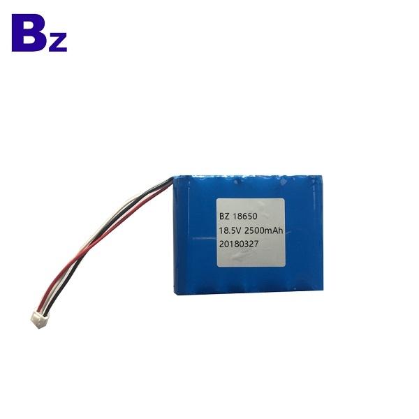 18650-5S 2500mAh 18.5V 5C 鋰離子電池