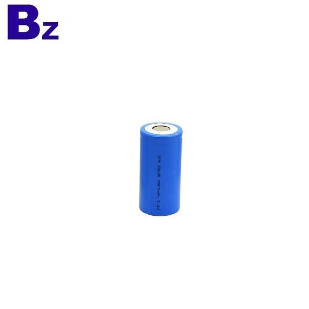 圓柱形LiFePO4電池32650 5000mAh 3.2V可充電