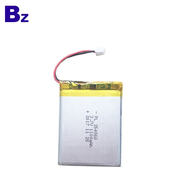 1100mAh 3.7V 可充電LiPo電池