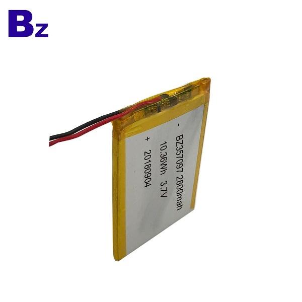 2800mAh 3.7V鋰聚合物電池