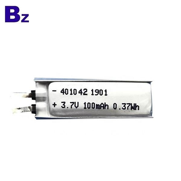 401042 3.7v 100mAh鋰電池
