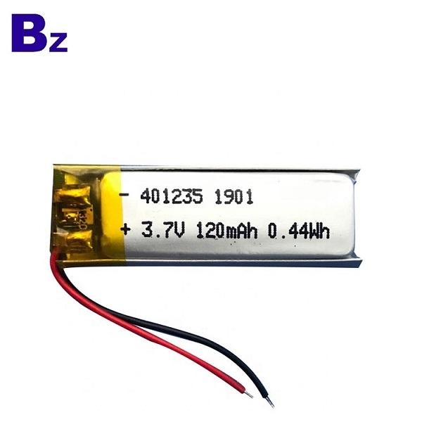 401235 120mAh 3.7V鋰電池