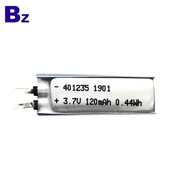用於POS終端的120mAh鋰聚合物電池