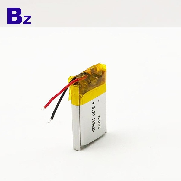 110mAh 3.7V聚合物鋰離子電池