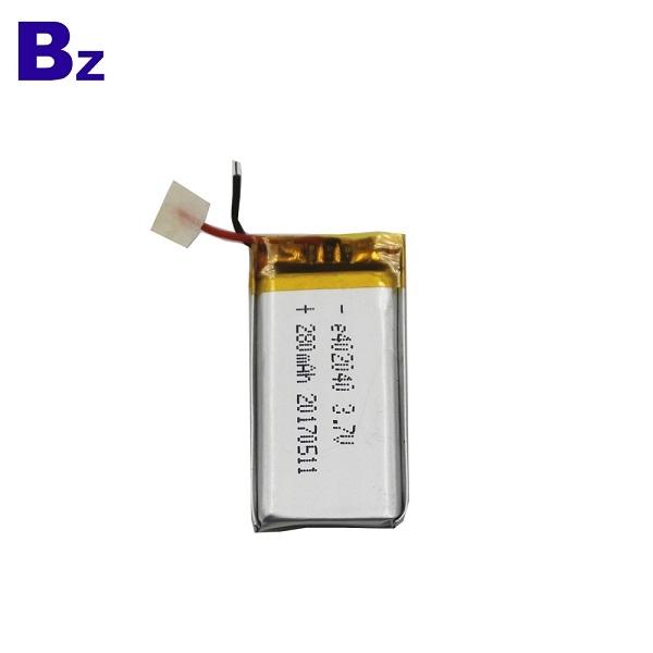 批發 BZ 402040 280mah 3.7V 鋰電池