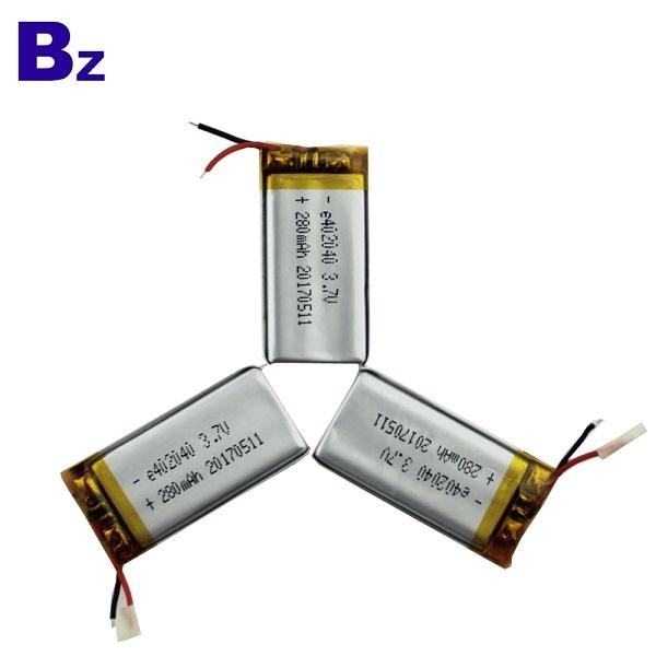 402040 280mah 3.7V 鋰電池