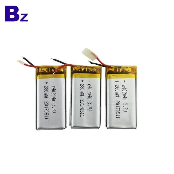 BZ 402040 280mah 3.7V 鋰電池