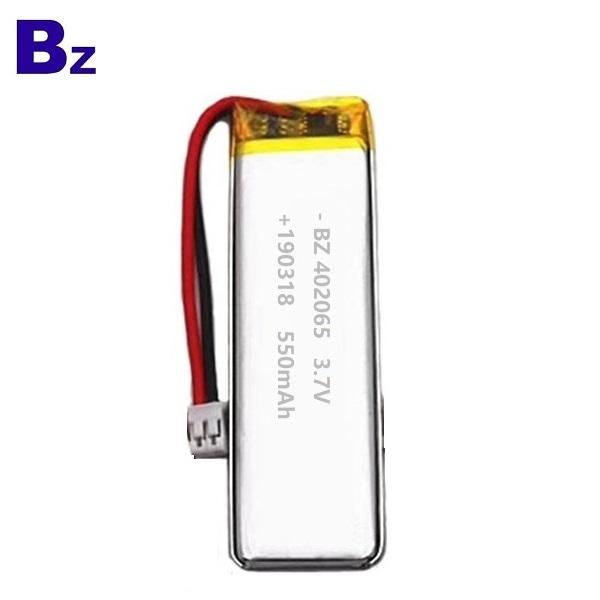 具有KC認證的550mAh Lipo電池