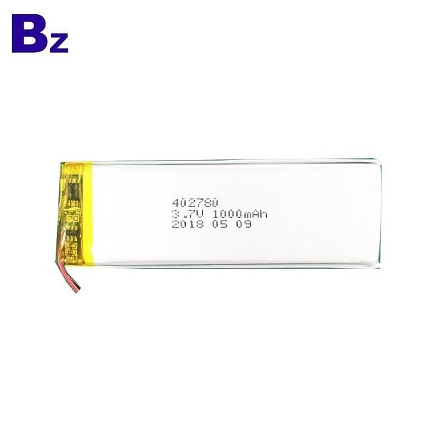 402780 1000mAh 3.7V鋰電池