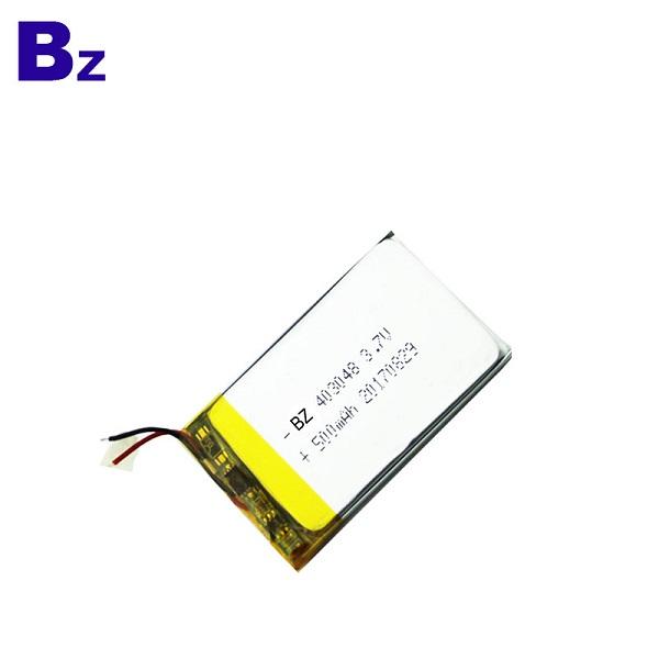 500mAh 鋰聚合物電池