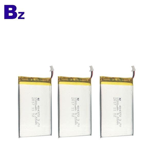 1500mAh 3.7V 可充電鋰聚合物電池