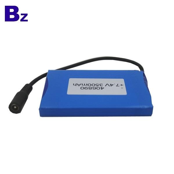 406890 2S 7.4V 3500mAh 聚合物鋰離子電池