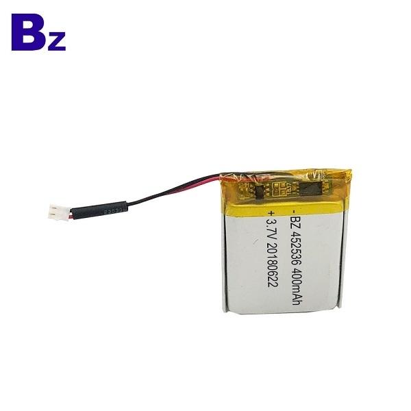 400mAh 3.7V鋰電池