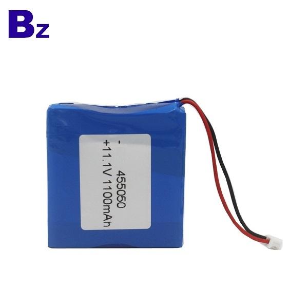 可充電鋰離子電池 BZ 455050 3S 11.1V 1100mAh 聚合物鋰離子電池