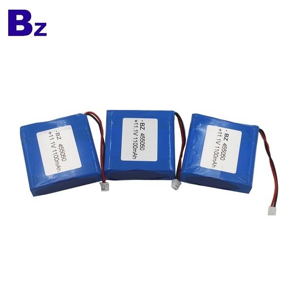 BZ 455050 3S 11.1V 1100mAh 聚合物鋰離子電池