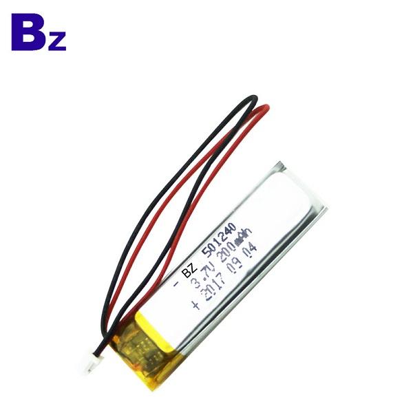 200mah 3.7V數碼產品可充電LiPo電池組