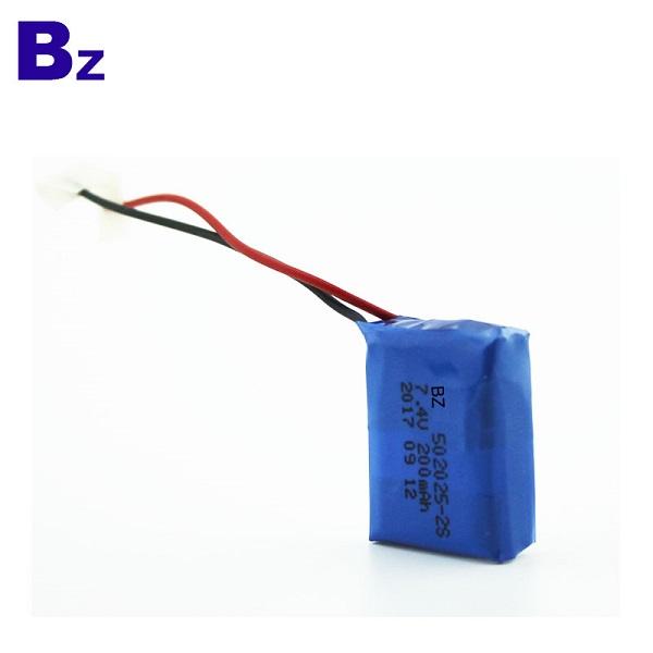 7.4V可充電聚合物鋰離子電池