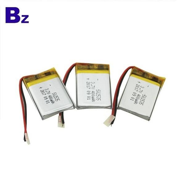 502535 400mah 3.7V 鋰電池