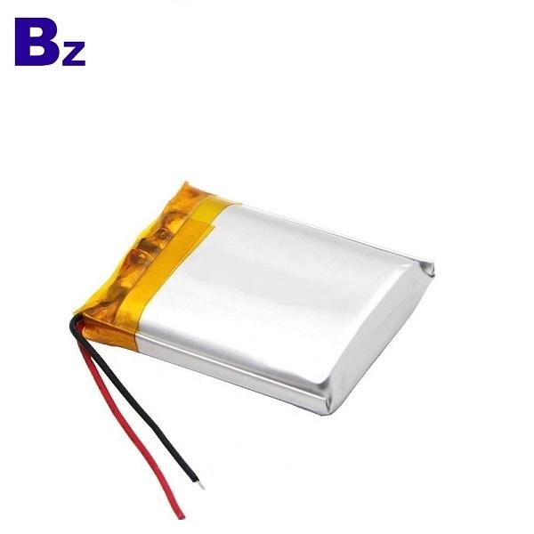 帶有KC證書的600mAh鋰電池