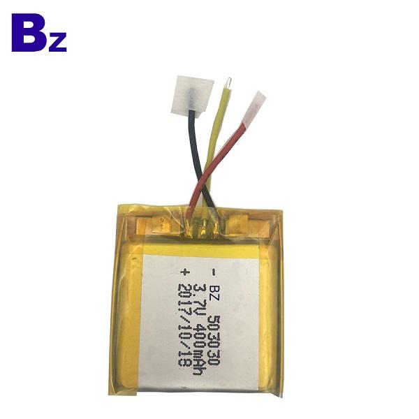 400mAh 3.7V 鋰聚合物電池