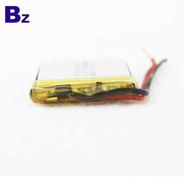 600mAh 3.7V 可充電鋰聚合物電池