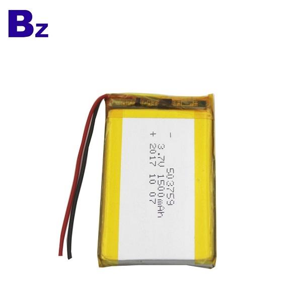 用於美容儀器的可充電電池