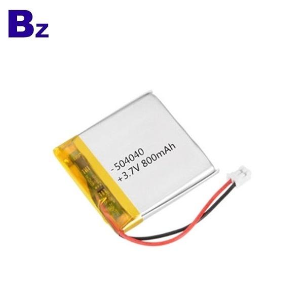 具有KC認證的800mAh Lipo電池