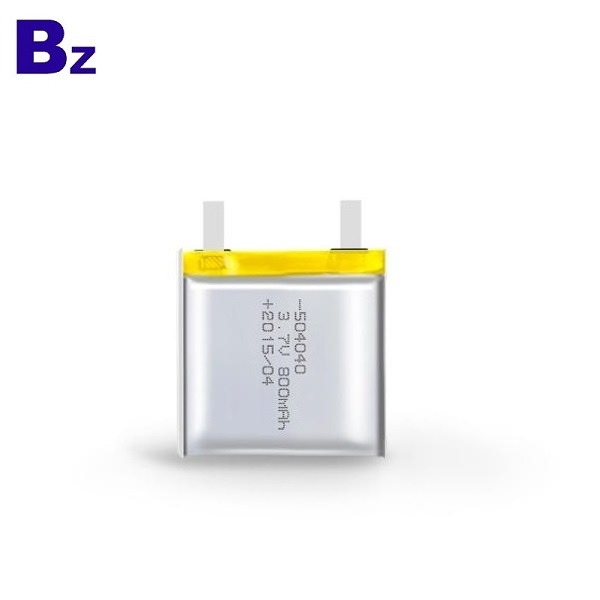 504040 800mAh 3.7V鋰電池