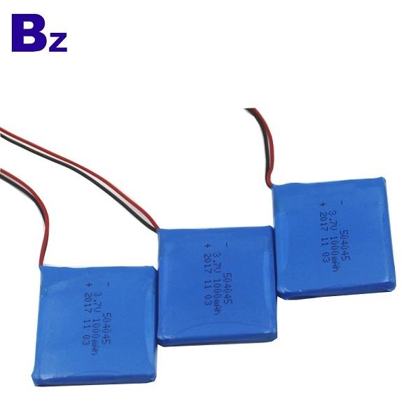 BZ 504045 3.7V 1000mAh 聚合物鋰離子電池