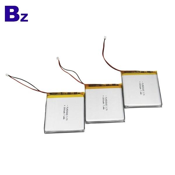 3.7V 2000mAh 鋰電池