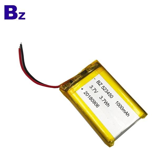 用於空氣淨化器的3.7V電池
